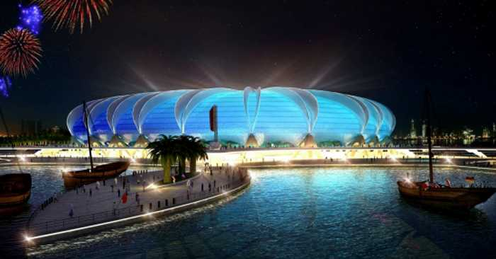 Doha Port Stadium, Doha. Kapacitet: 44 950