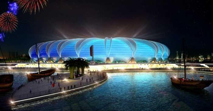 Doha Port Stadium, Doha. Kapacitet: 44 950