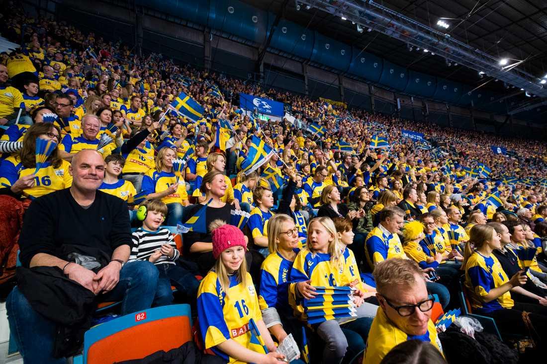 Fansen drömmer om VM-medalj