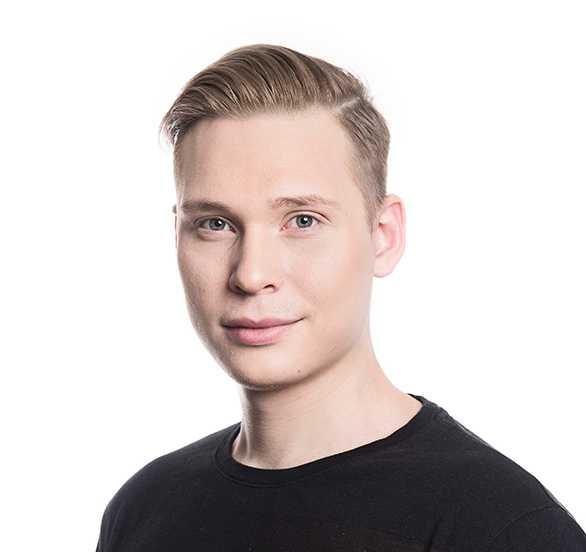 Anton Johansson, Liberala studenter
