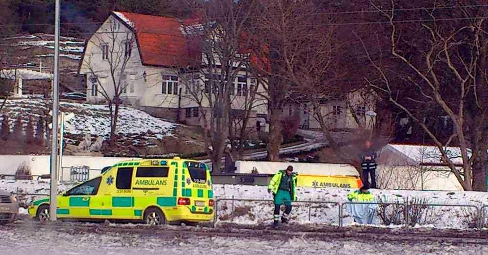 Bild från 2012 då en man också dog vid järnvägsövergången.