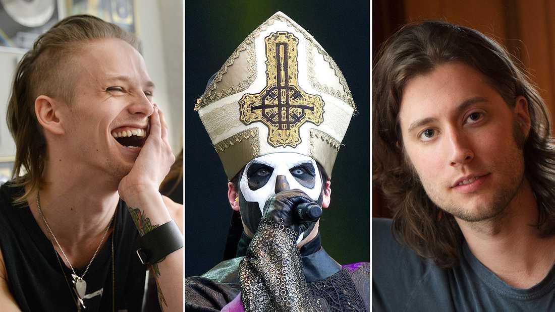 Erik Grönwall, Ghost och Ludwig Göransson.