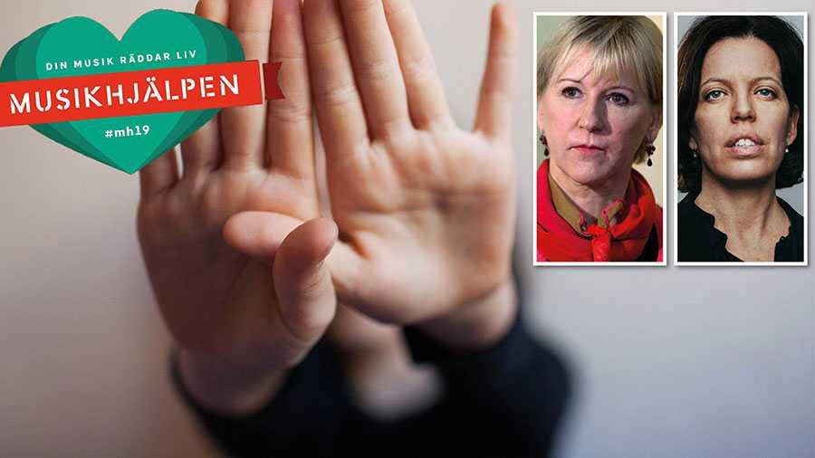 Vi hoppas att årets Musikhjälpen hjälper till att hålla frågan om sexuellt våld i konflikt högt på den politiska dagordningen, och skapar det breda folkliga engagemang som behövs för förändring, skriver Margot Wallström och Petra Tötterman Andorff.