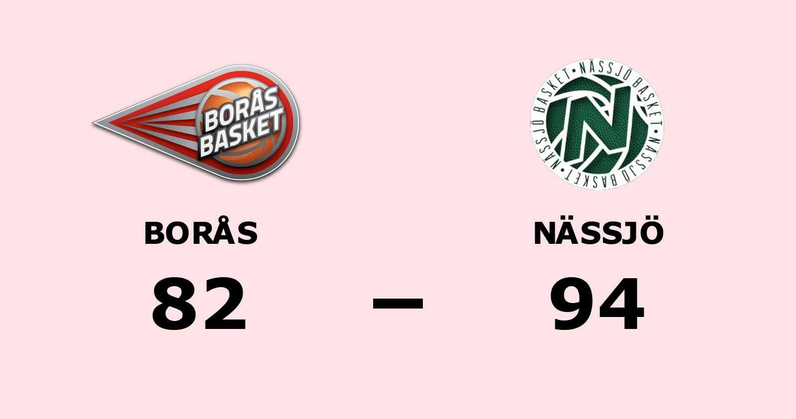 Nässjö vann och kvitterade mot Borås