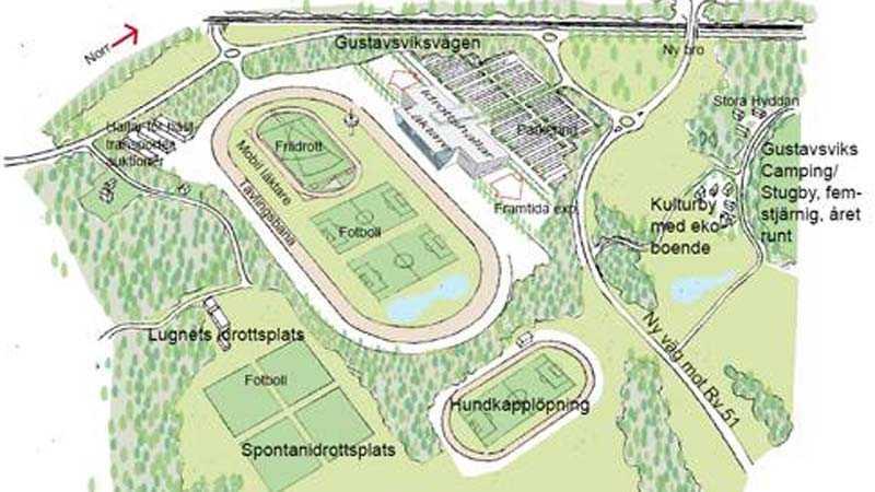 En multiarena i miljardklassen planeras för trav, fotboll, ishockey och friidrott planeras i Örebro.