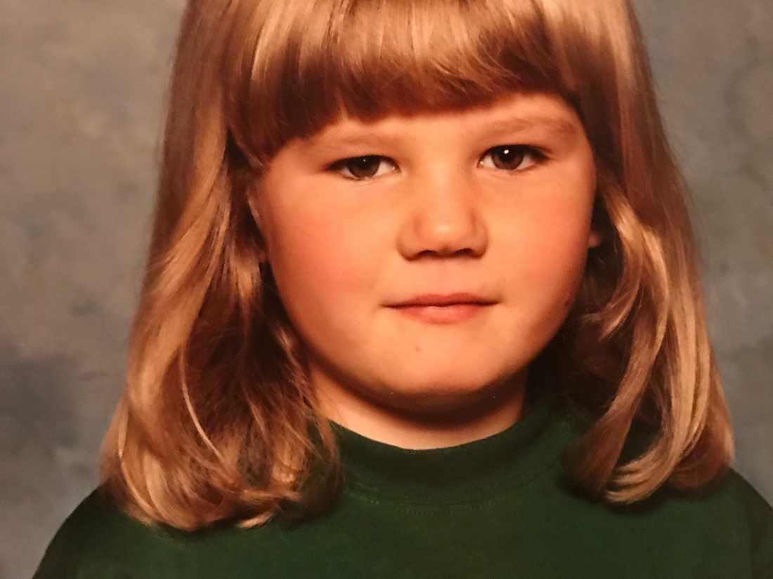När Linda-Marie var 8 år frågade en vän till hennes föräldrar om hon verkligen skulle äta mer.