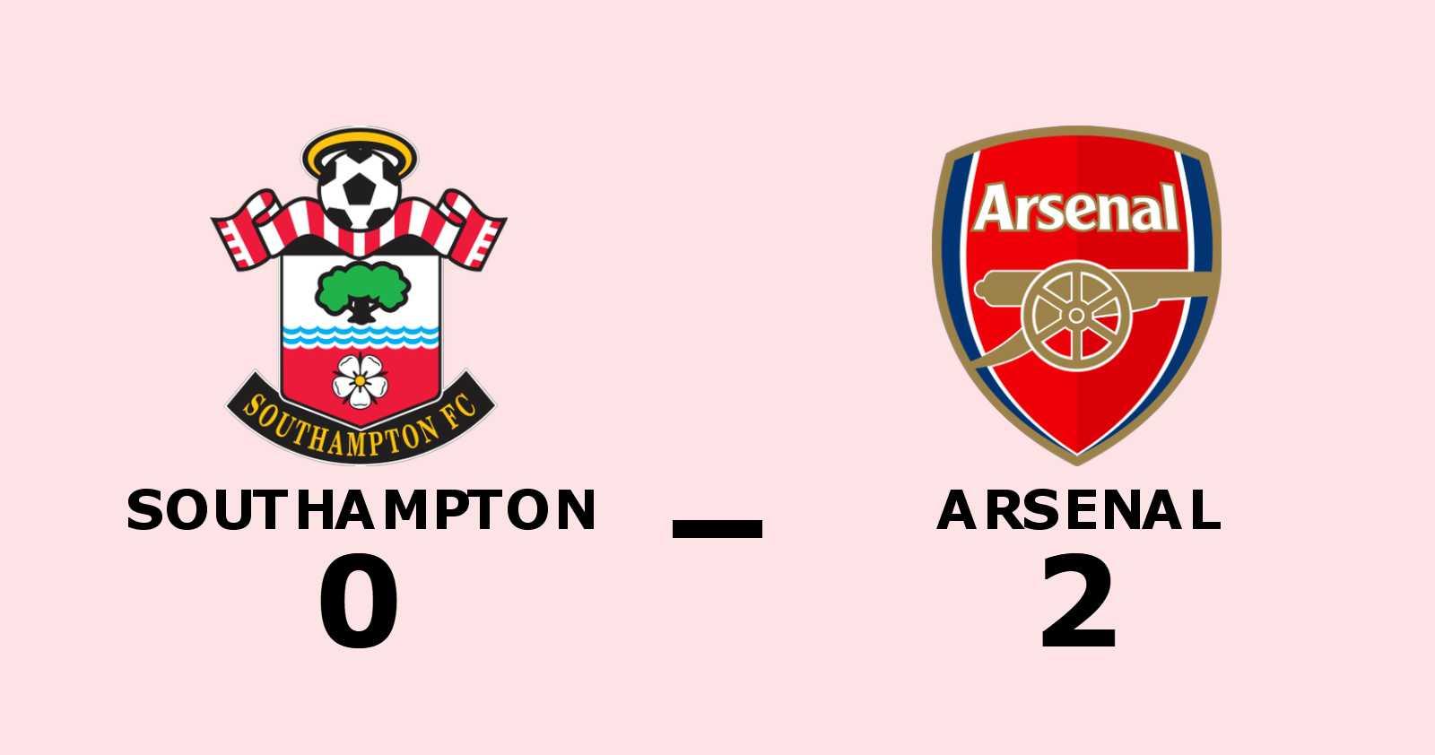 Nketiah och Willock målgörare i Arsenals seger