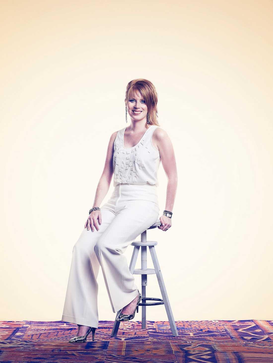 LÖÖFTE Annie Lööf tippas att bli en av de mäktigaste kvinnorna i Sverige 2012.