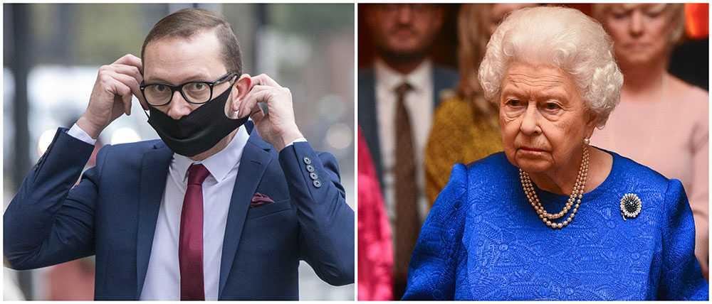 Adamo Canto stal värdefulla saker från drottning Elizabeth på Buckingham Palace. Nu har han ställts inför rätta och väntar på dom.