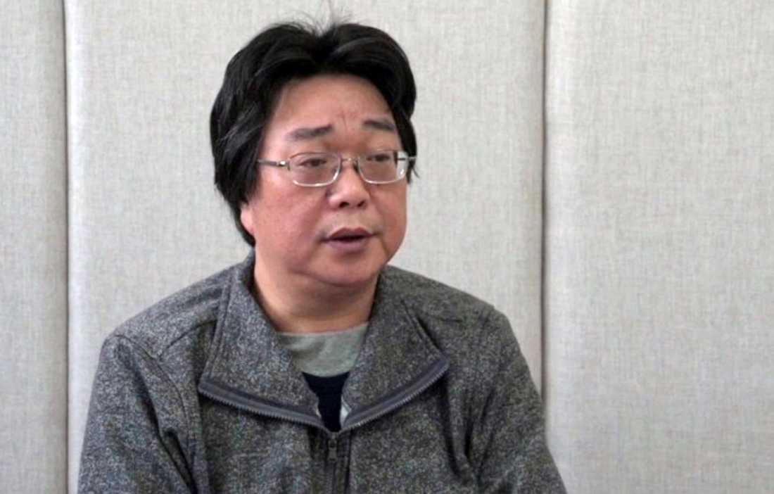 Den svenske förläggaren Gui Minhai.