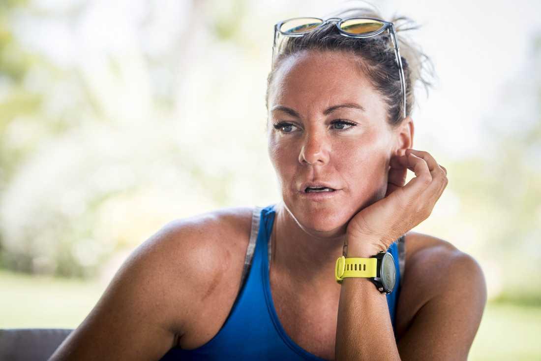Simstjärnan Emma Igelström.