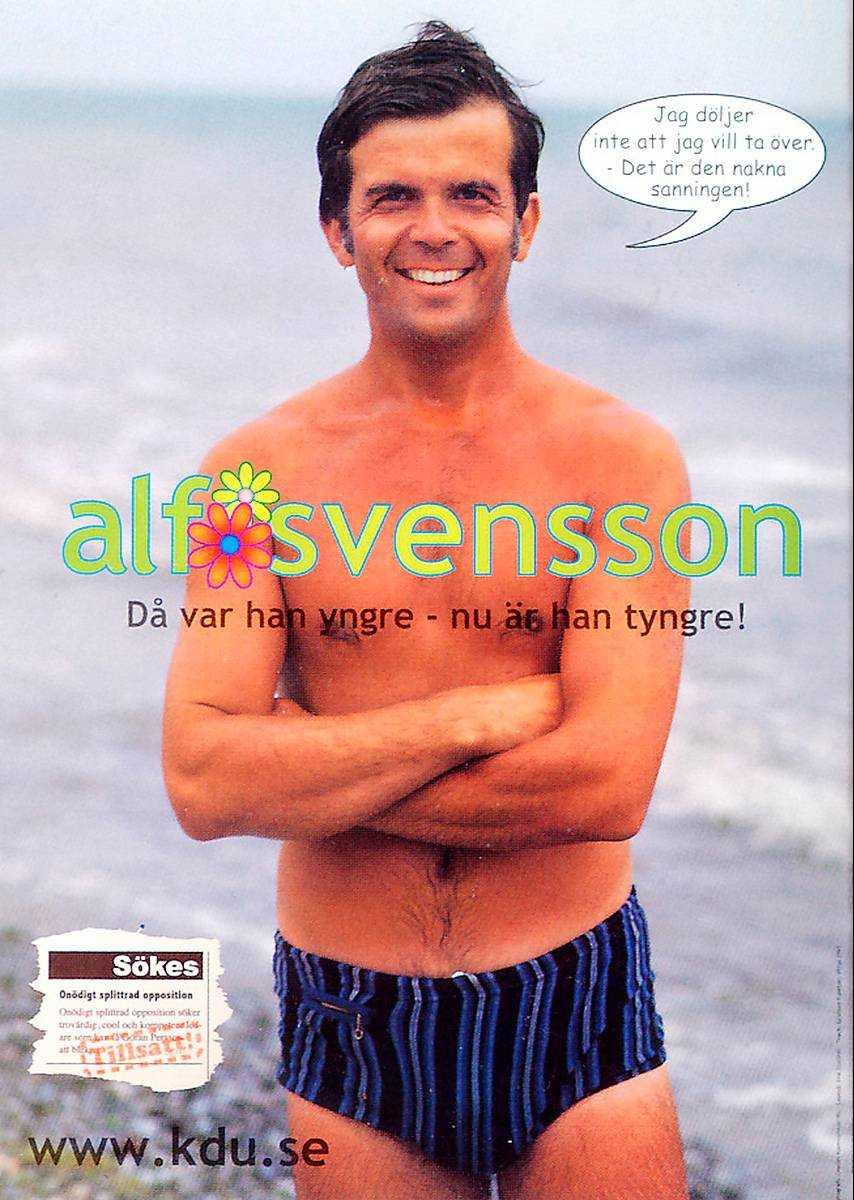 1973 slog Alf Svensson, 34, rekord i folklighet när han fotades på sommarstället vid havet i skånska Smygehamn av veckotidningen Hänts fotograf Charles Hammarsten.