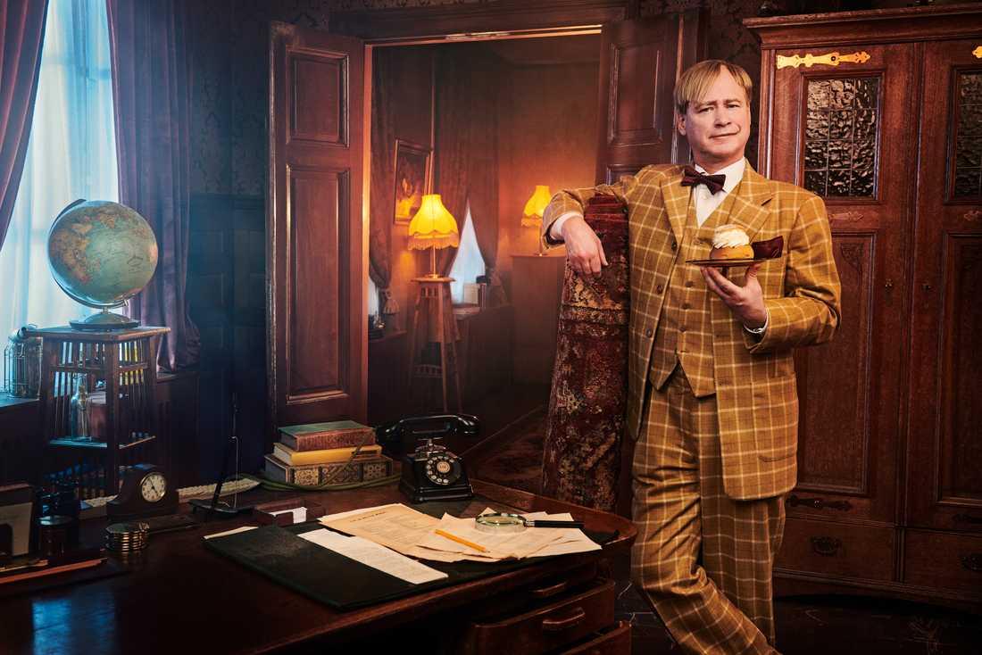 Robert Gustafsson som Ture Sventon i den kommande tv-serien.