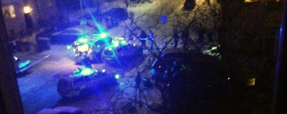 Mannen sköts med fyra skott.