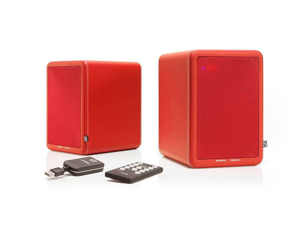 Högtalarmodellen med falska seriernummer, Audio Pro LV2e.