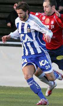 Jonathan Berg riskerade att missa spel fram till sommaren. Men idag är han tillbaka i matchen mot AIK.
