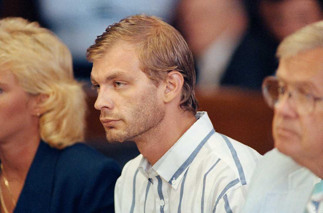 Jeffrey Dahmer inför rätta.