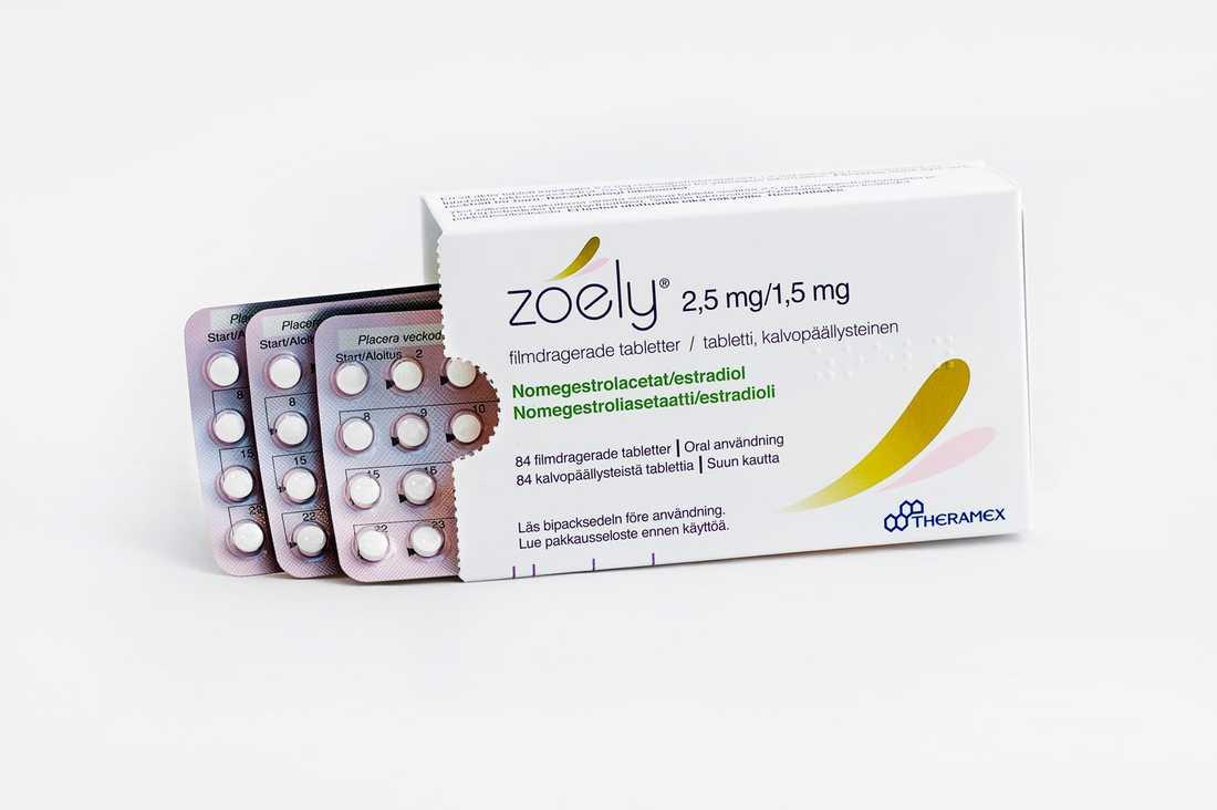 P-pillret Zoely är slut på apoteken på grund av problem med tillverkningen.