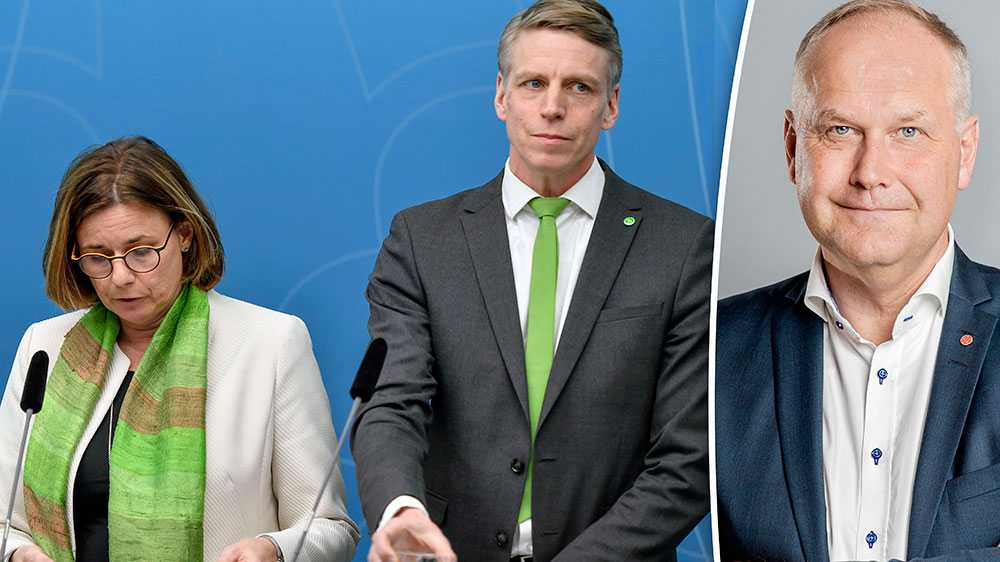 När S och MP säger nej till Gotlandskabeln, stoppar de en kraftfull utbyggnad av förnybar el och säger nej till att Sveriges näst största utsläppare kan kapa sina utsläpp, skriver Jonas Sjöstedt (V).