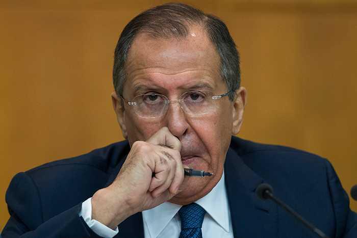 Rysslands utrikesminister, Sergej Lavrov.