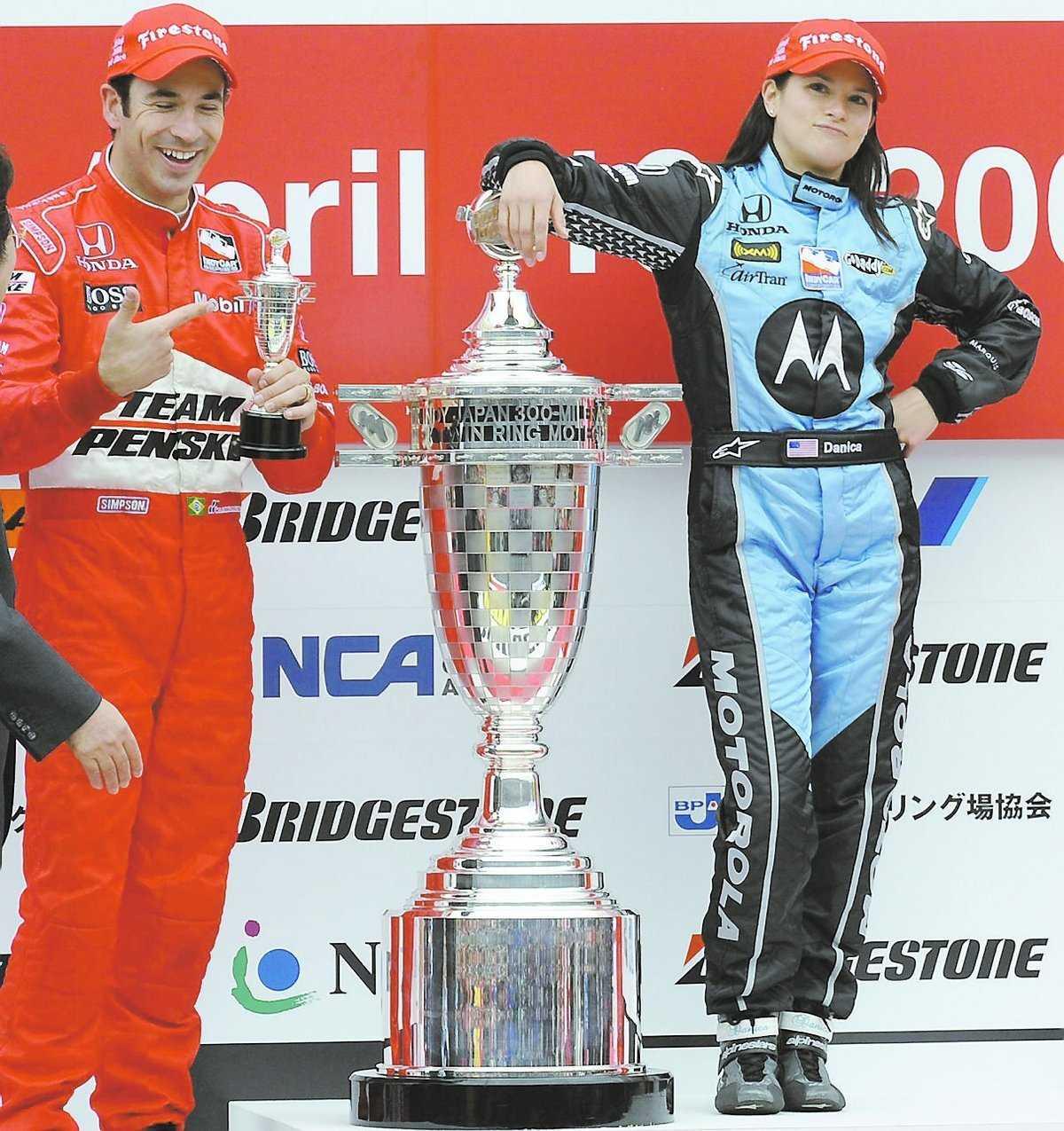 Högst på pallen Danica Patrick kan bli första kvinna i Formel 1-cirkusen.