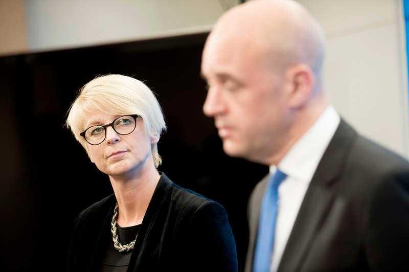 Elisabeth Svantesson (M) är Reinfeldts nya arbetsmarknadsminister.