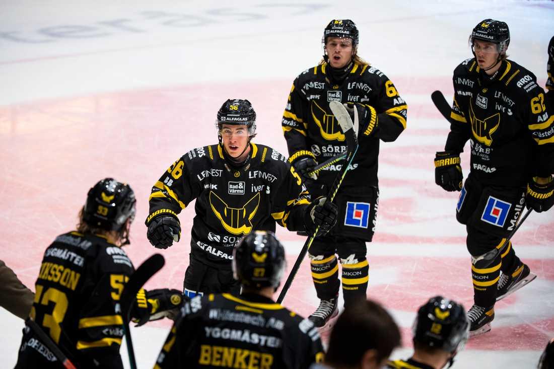 Alexander Lunsjö gjorde hattrick när Västerås besegrade Modo.