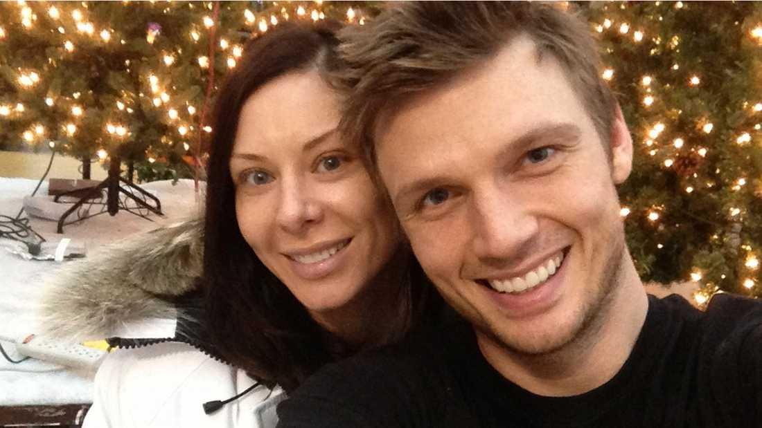 Nick Carter och Lauren Kitt Carter väntar barn.