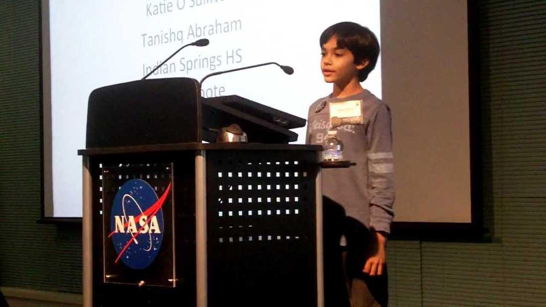 Tanishq Abraham föreläser hos Nasa.