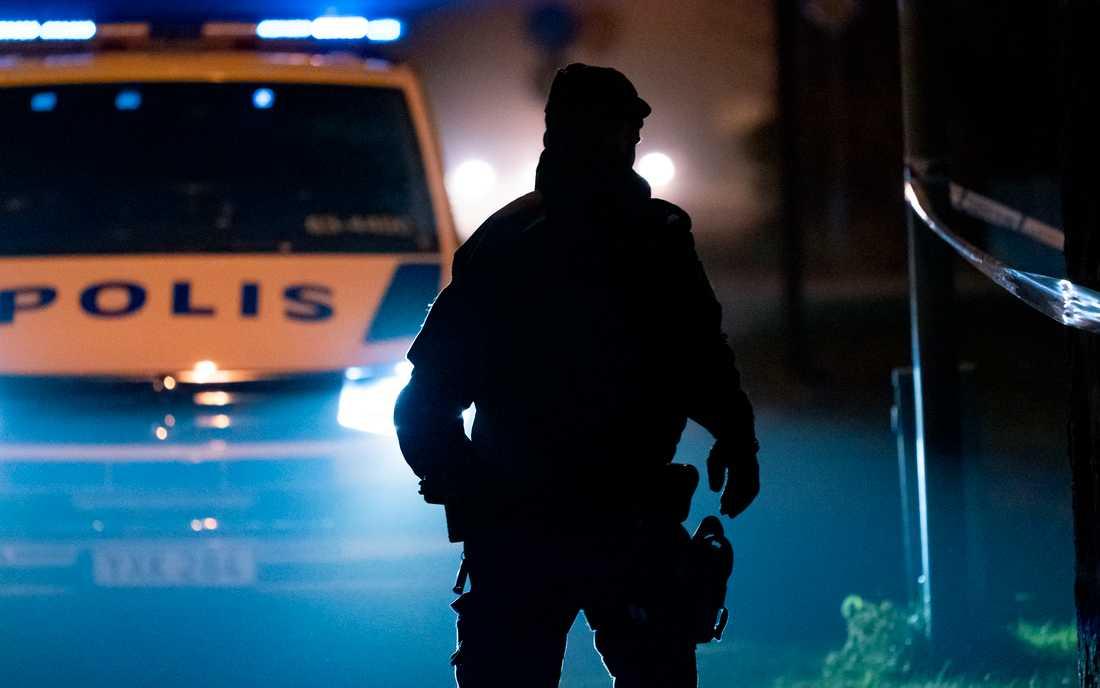 Polisen utreder ett misstänkt mord i Västerås. Arkivbild.