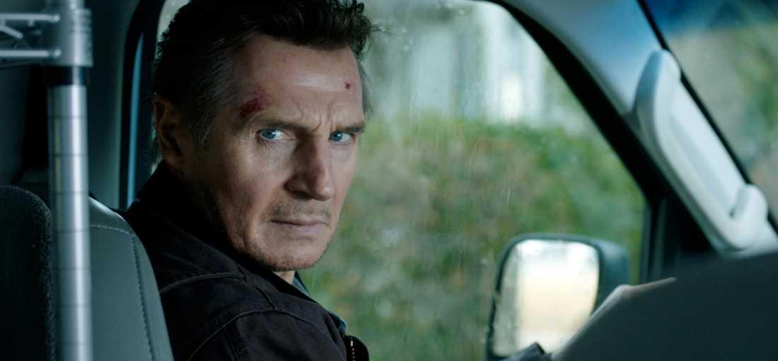 """Liam Neeson-thrillern """"Open thief"""" är etta på biotoppen i USA."""