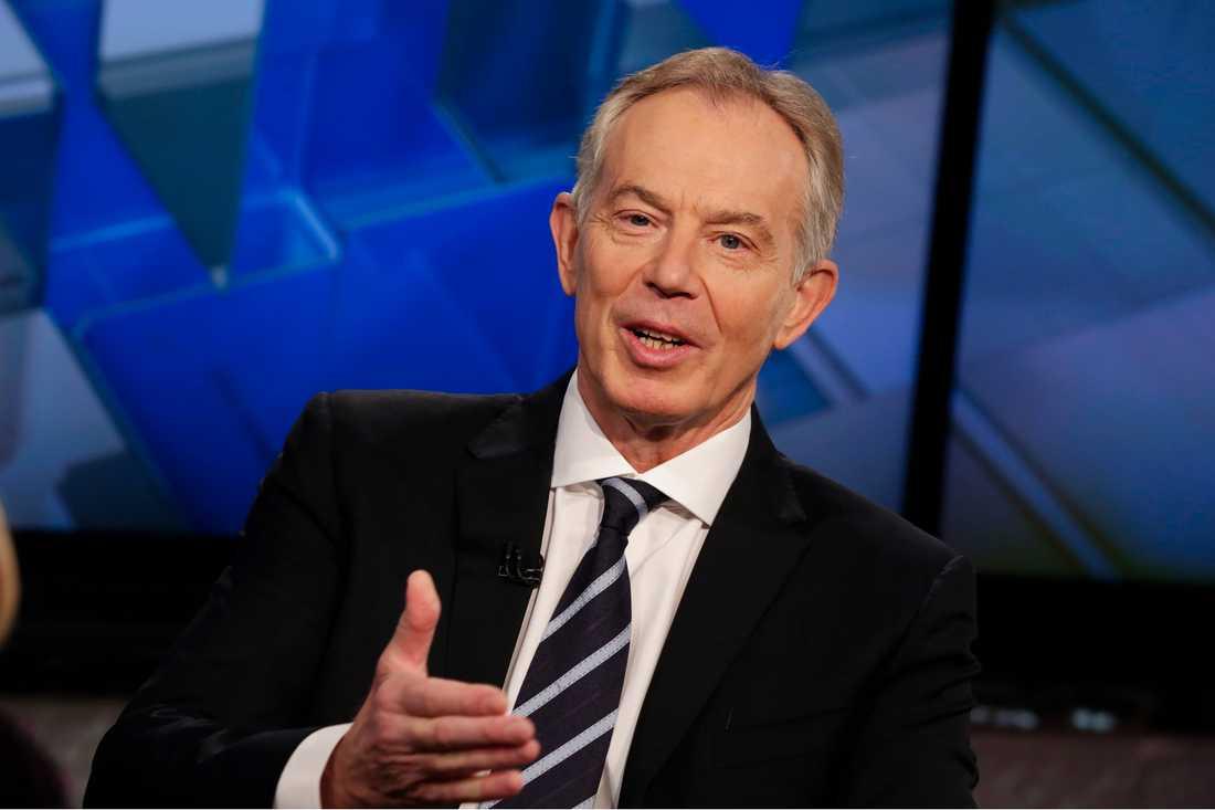 Storbritanniens tidigare premiärminister Tony Blair. Arkivbild.