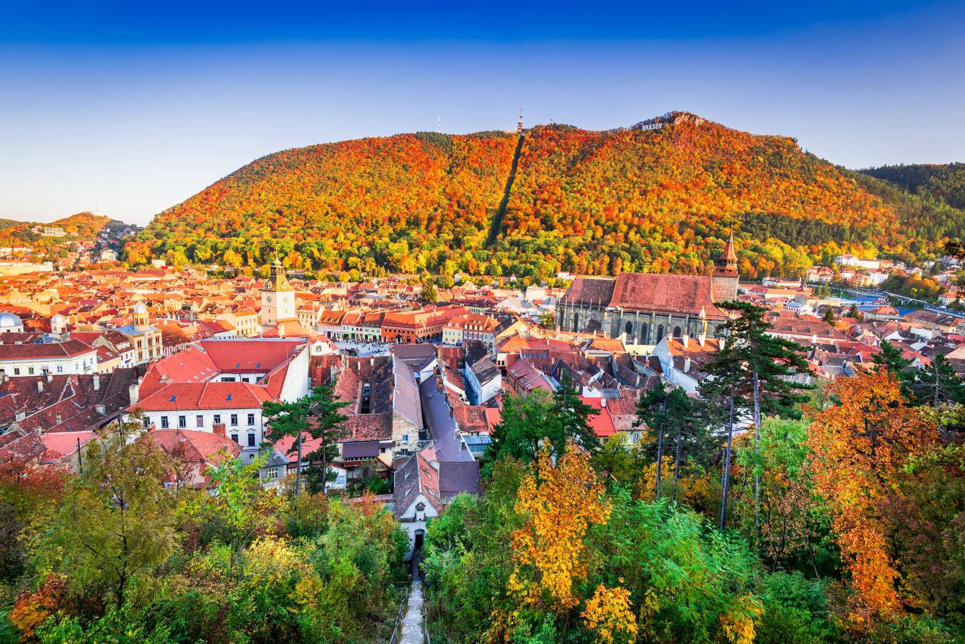 Horatiu Horvat tycker att Brasov är Rumäniens vackraste stad.