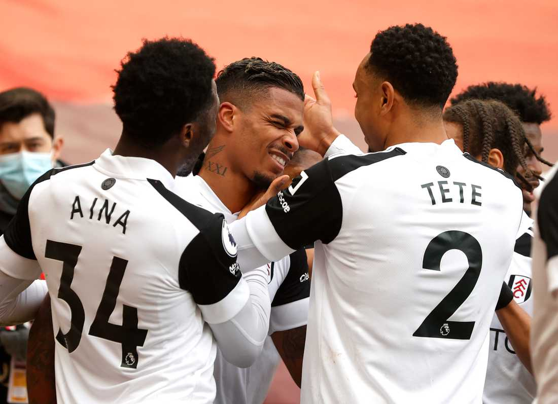 Fulham-jubel.