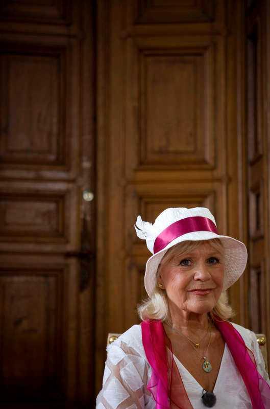 BARA DE NÄRMASTE VISSTE Christina Schollin fick beskedet att hon hade en väldigt ovanlig form av cancer 2011.