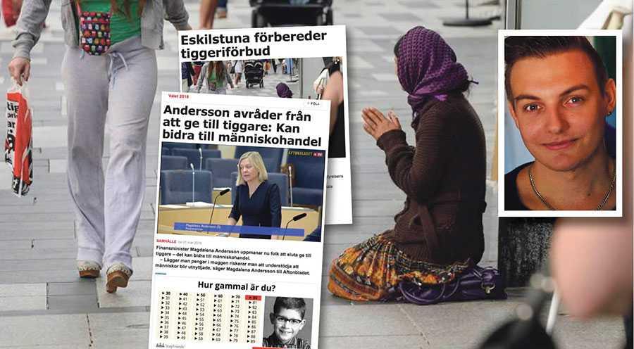 Att regeringsföreträdare lyfter Eskilstunas repressiva förslag som en väg framåt i stället för lyckade fattigdomsbekämpande insatser är oförståeligt, skriver Joakim Månsson Bengtsson.