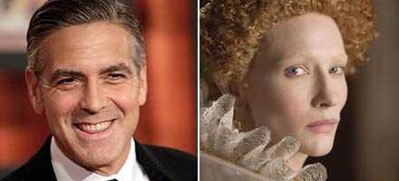 George Clooney och Cate Blanchett har chans på statyetter.