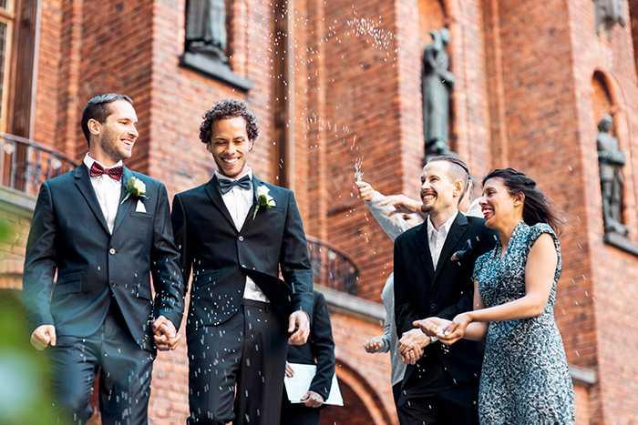 Att gifta sig på ett slott - vem skulle tacka nej till det?