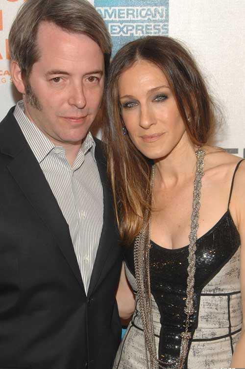 Sarah Jessica Parker, 44, och hennes man Matthew Broderick, 47, fick två tvillingdöttrar på tisdagen.