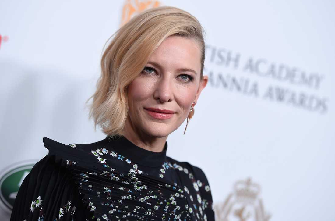 Cate Blanchett råkade ut för en incident under hemkarantänen – med en motorsåg.