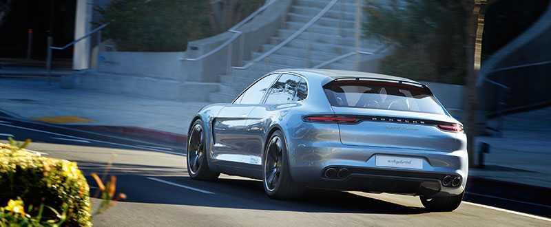 """Panamera Shooting Break är en konceptbil som visades för två år sedan. """"Jag älskar bilen"""", säger designern."""