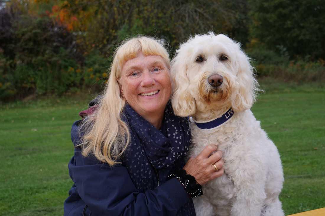 Överläkare Ann Edner ligger bakom studien, och är Livias matte privat.