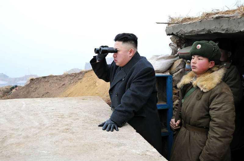 Kim Jong-Un den 7 mars.