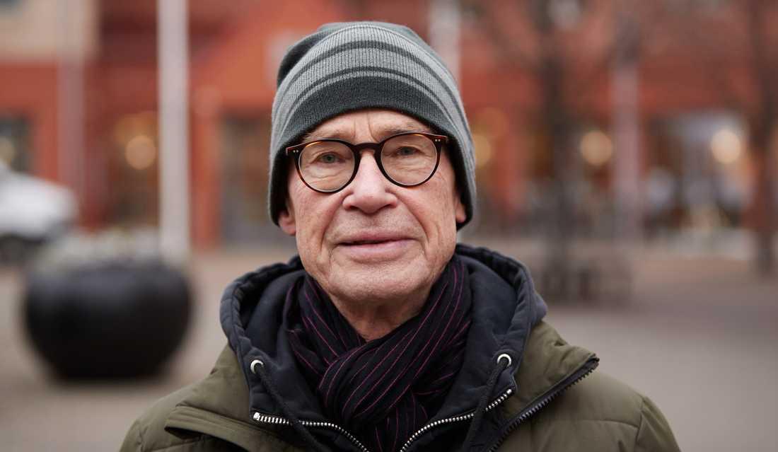 """Görgen Svensson, 79: """"Jag tycker de tar ut svängarna lite för hårt i filmen."""""""