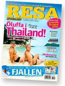 Nya Resa säljs med Aftonbladet tisdag-onsdag 4-5 november.