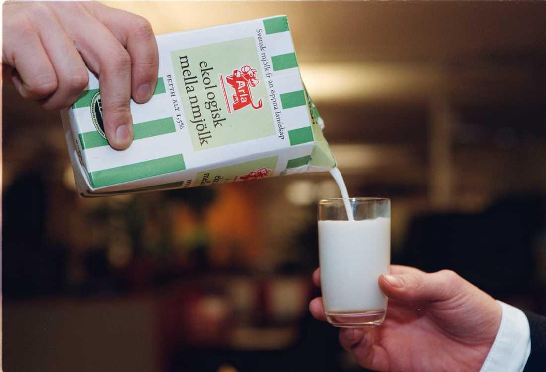 sluta dricka mjölk