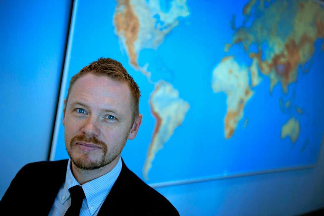 Björn Jerdén, programchef och forskare på Utrikespolitiska Institutet. Arkivbild.