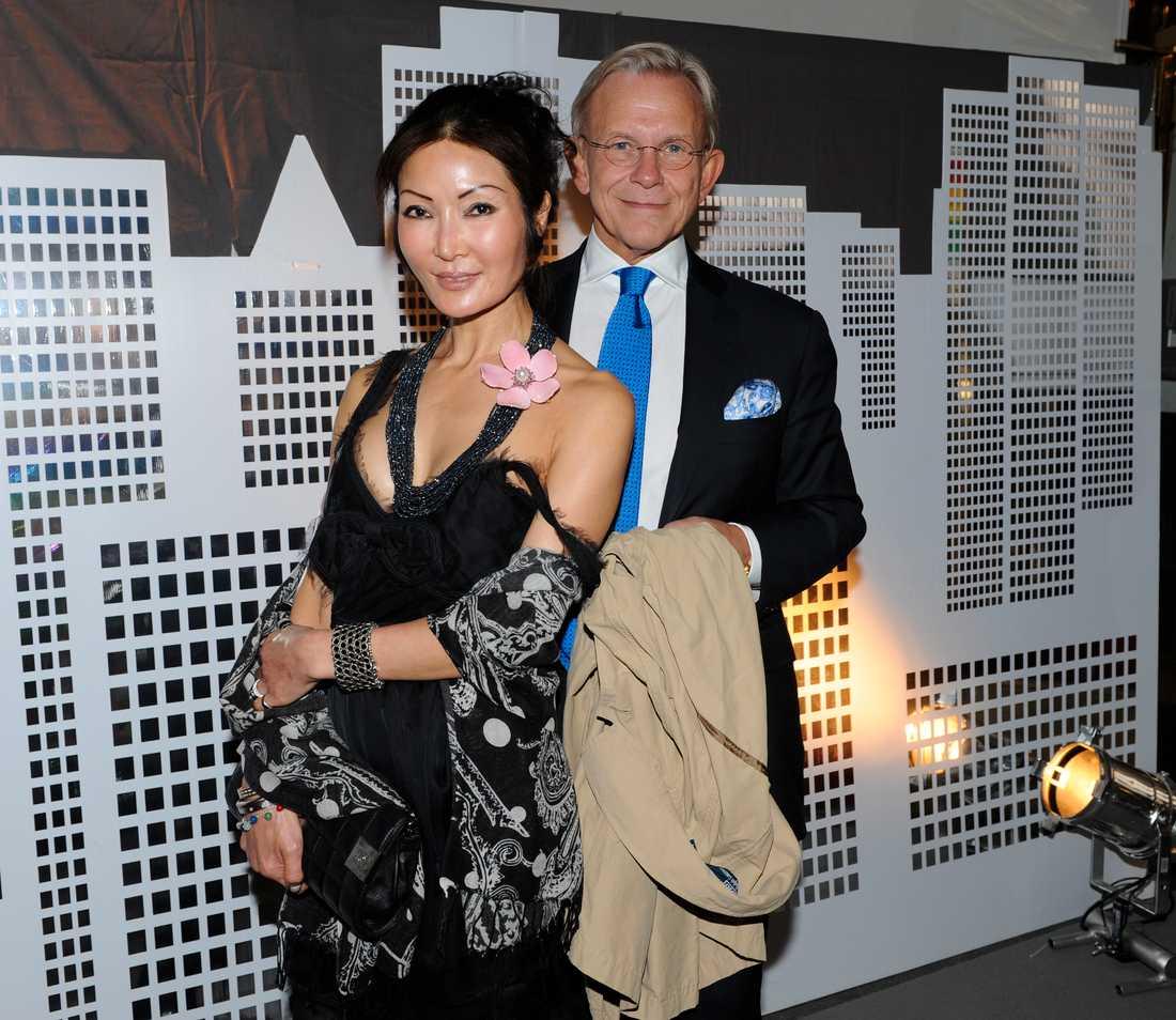 Noppe Lewenhaupt med maka Lee.
