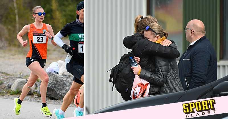 Carolina Wikström bröt för första gången – i rekordförsöket