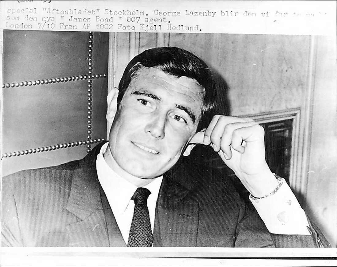 GeorgeLazenby, 1969.
